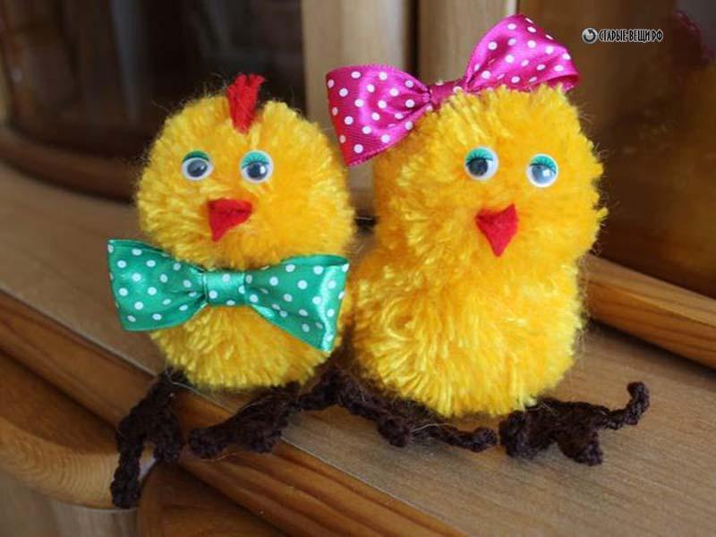 Цыплята своими руками мастер
