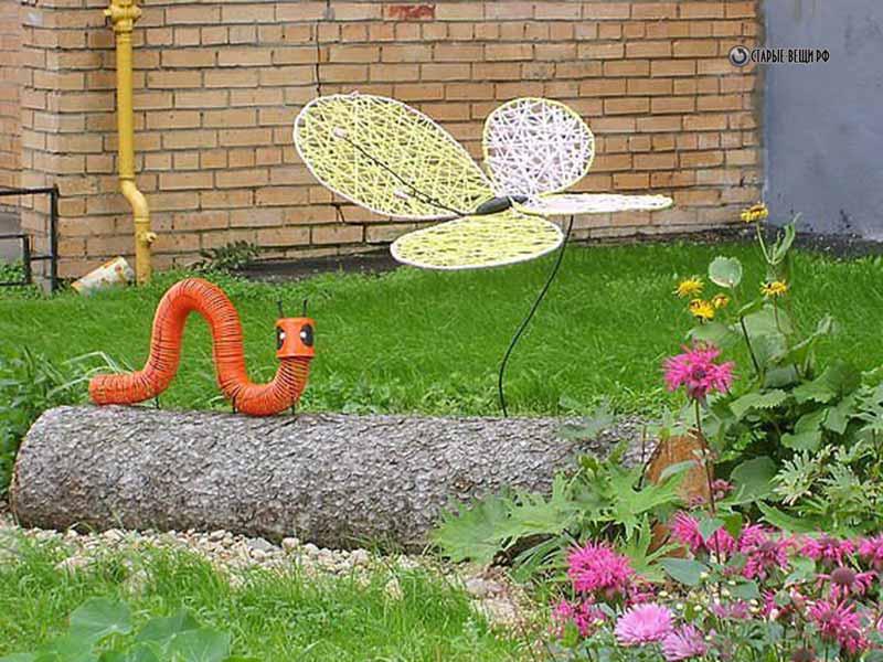 Поделки своими руками дачи сада