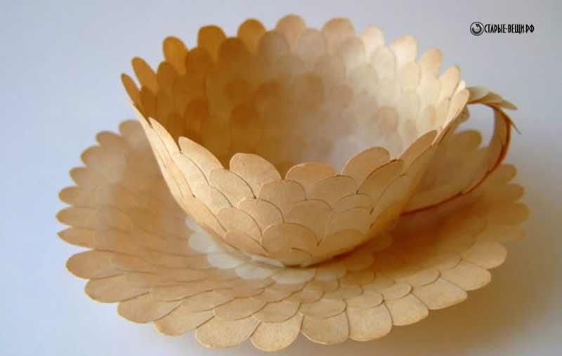 Поделки из одноразовой посуды своими руками фото 387