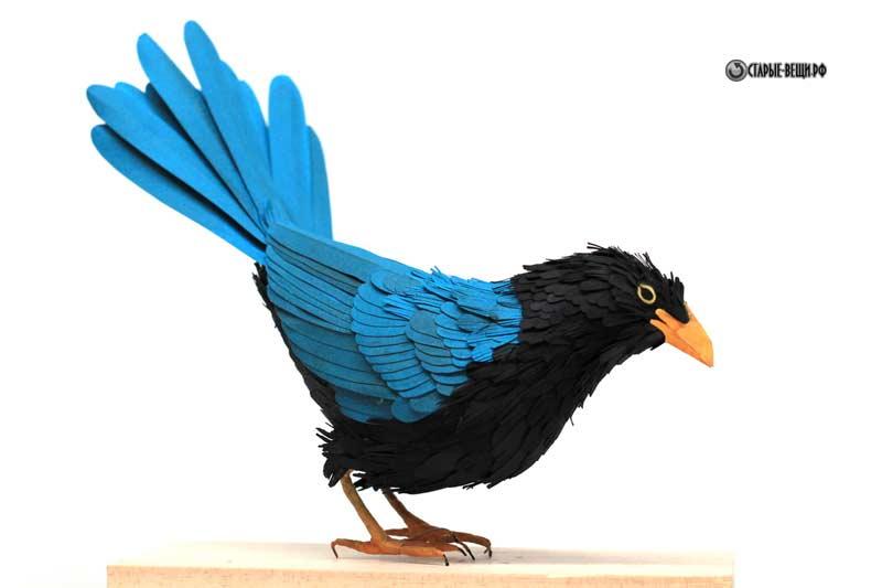 Объёмные птицы своими руками фото 775