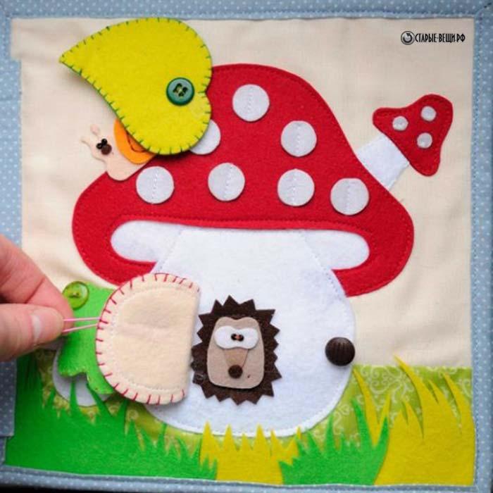 Книги из фетра для детей
