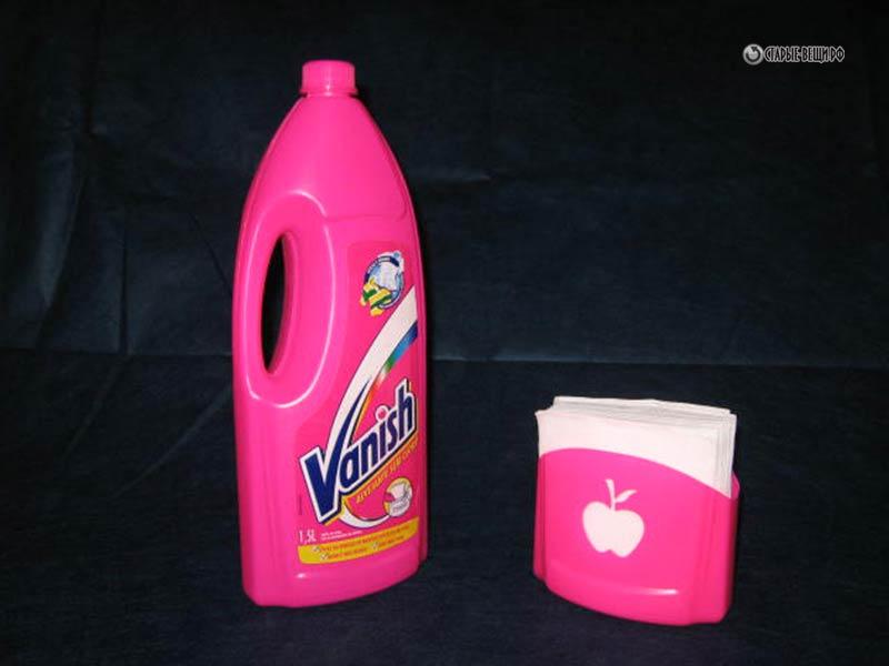 Поделки из бутылок моющих средств 8