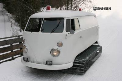 Переделка в микроавтобусе