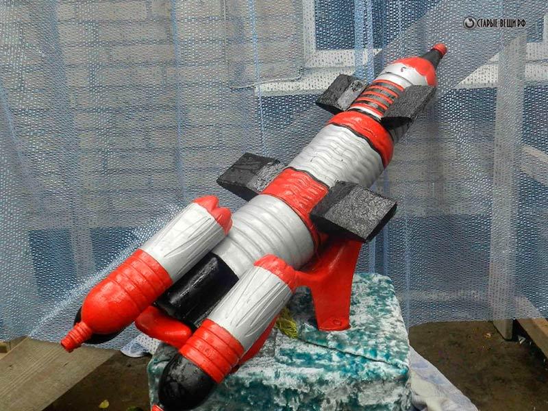 Сделать большую ракету своими руками 122
