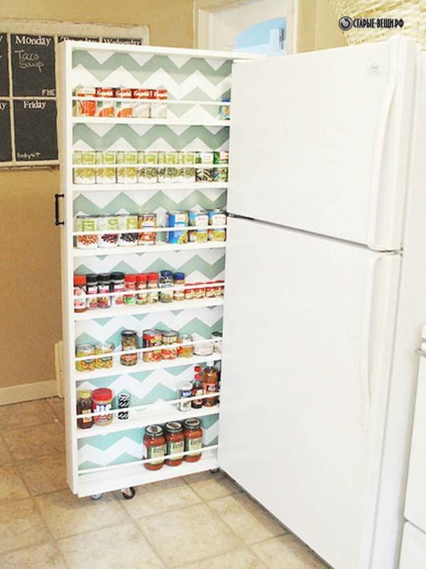 Шкаф из холодильника своими руками