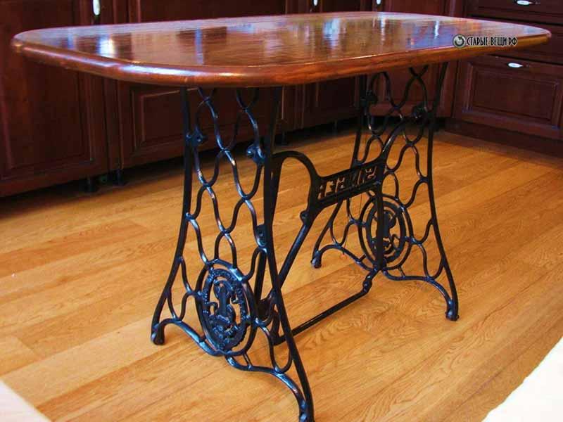 Как сделать стол из зингер