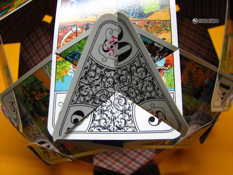 Поделка из игральных карт 95