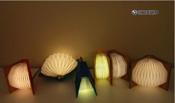 Светильник  из бумаги в технике оригами