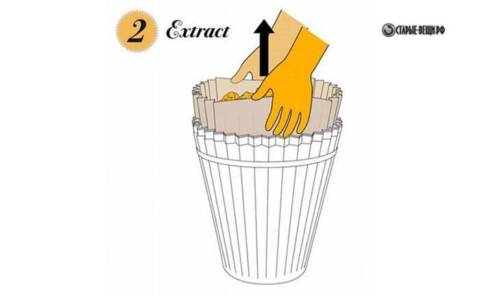 Как сделать мусорное ведро своими руками для кукол 32