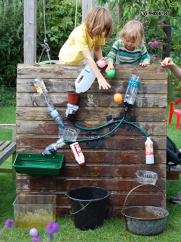 Развлечения детей на даче своими руками