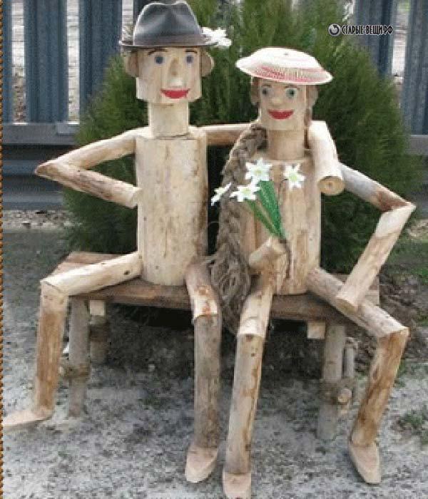 Садовые фигурки своими руками из подручных материалов
