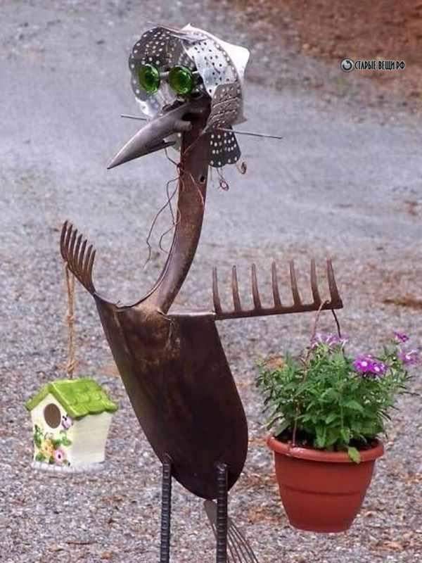 Поделки садовый инвентарь 99