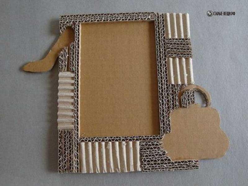Как сделать большую рамку своими руками из картона и бумаги