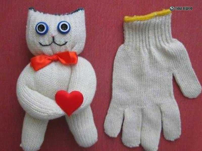 Сделать своими руками перчатки