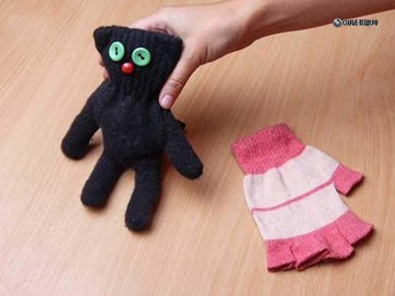 Как сделать игрушку своими руками из перчатки