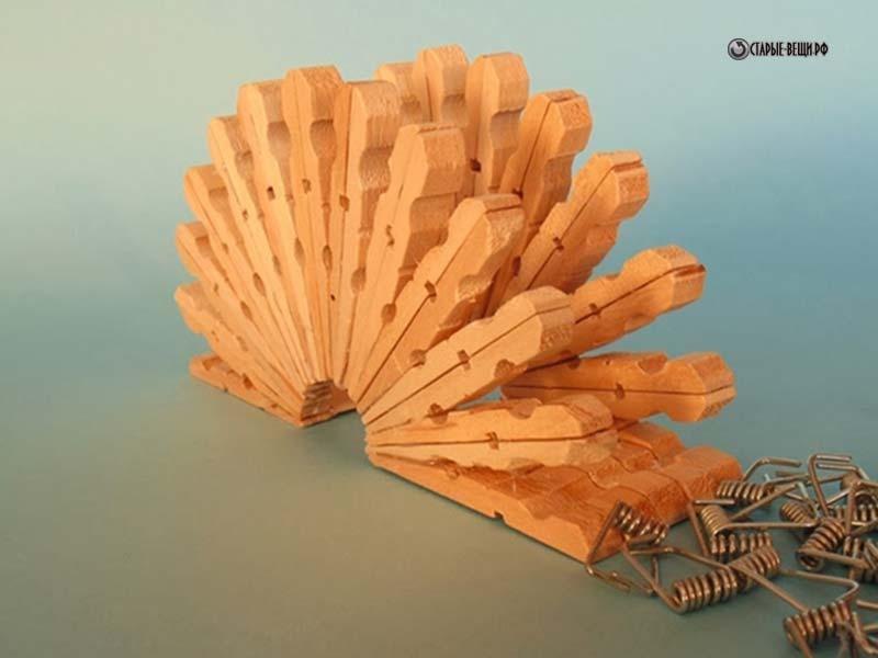 Все из деревянных прищепок своими руками