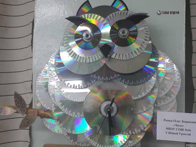 Экологические поделки из дисков 99