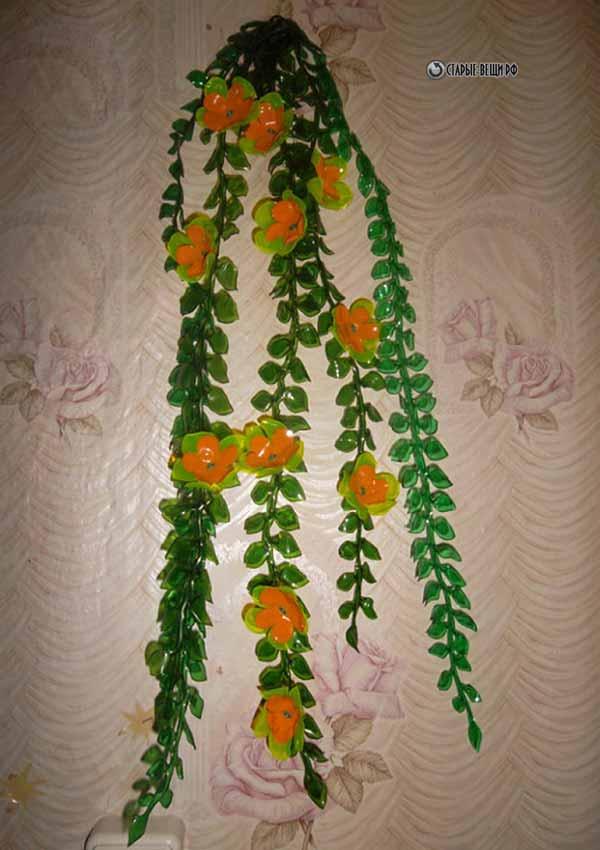 Домашние цветы из пластиковых бутылок своими руками