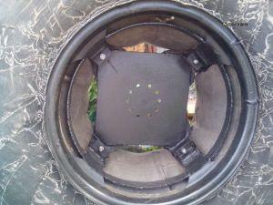 сборка диска для заднего колеса болотохода