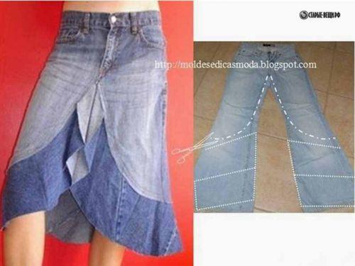 Как сшить лоскутки из джинсы фото 710