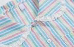 Летняя цветная блузка