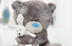 Вязаный медвежонок - лучший подарок