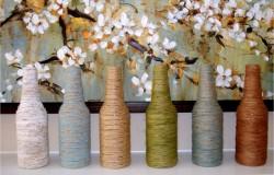 Интерьерные обновления – облагораживаем старую вазу
