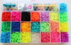 Детское рукоделие – плетение из резинок