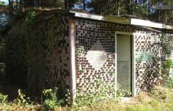 Дом из бутылок в Миссисипи