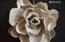МК Роза из пластиковых ложек
