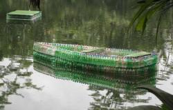 Лодка своими руками из пластиковых бутылок