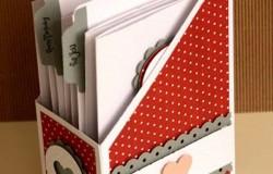 Органайзер для книг и журналов из коробок своими руками