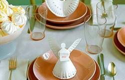 Ангел из бумажной тарелки
