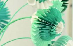 Бумажные цветы Йортина Остерхоффа