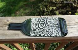 Поделки из бутылок с узорами