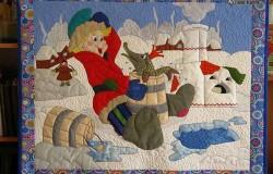 Шикарные картины из лоскутков ткани