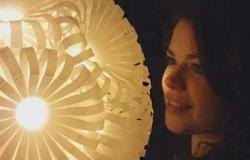 Светильники из бутылок колы от Сары Тернер