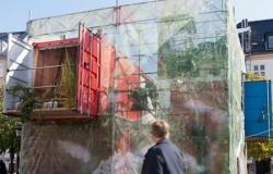 Контейнерный дом на выставке в Копенгагене