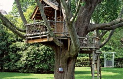 Домик на дереве для вашего миниатюрного садика