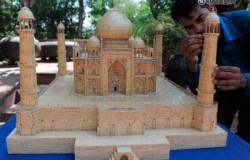 Храм из спичек Тадж Махала
