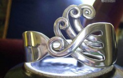 Ювелирные  украшения из вилок