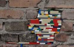 Восстановление кирпичной кладки детским конструктором