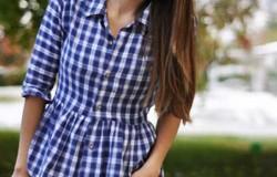 Блузки из мужских рубашек