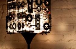 Лампы из аналоговых кассет