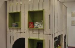 Детский игровой комплекс своими руками из старых поддонов.