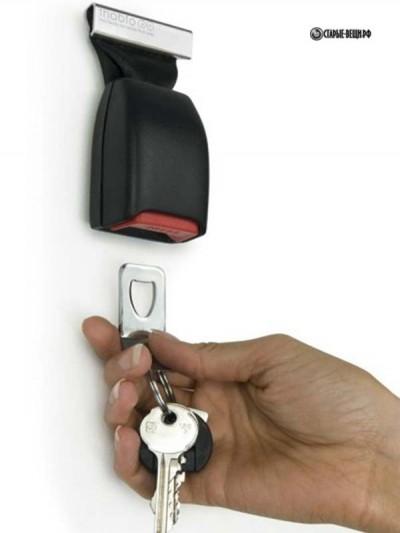 Идеи по изготовлению оригинальных ключниц  своими руками