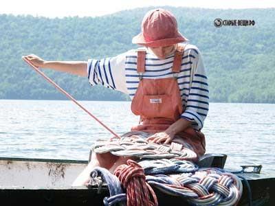 Плетение ковриков из веревки и каната.