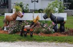 Восхитительные лошадки из цветочных горшков своими руками
