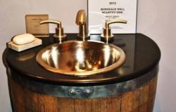 Мебель из старых винных бочек от компании Native Trails.