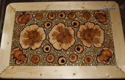 Мебель из спилов дерева, коряг, сувеля и капа